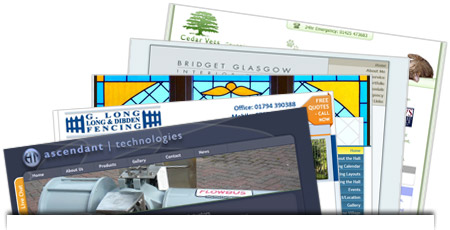Some of the recent websites we've designed and developed